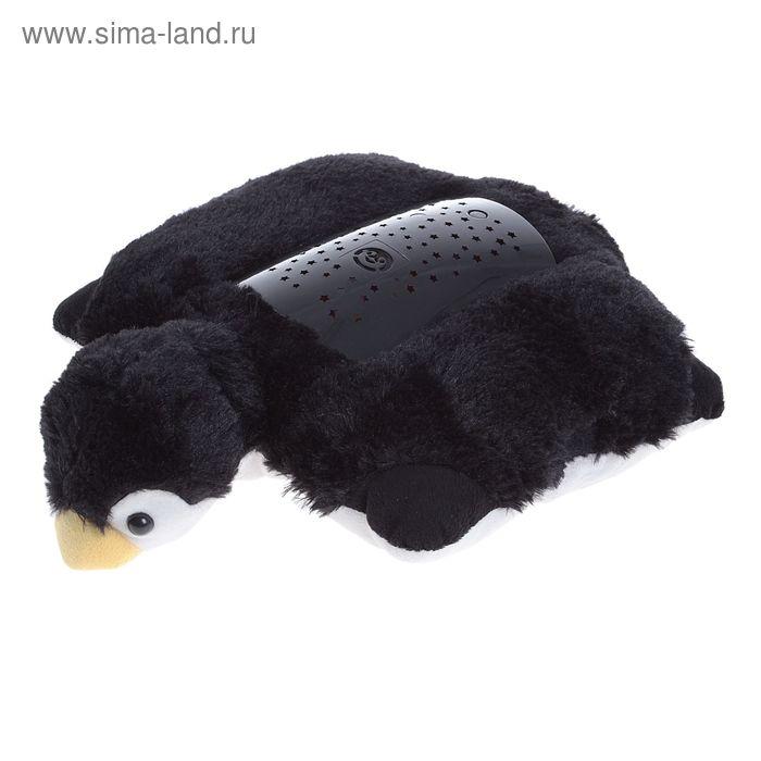 """Игрушка """"Пингвин"""" с функц ночника на бат в пакете"""