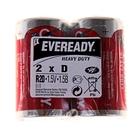 Батарейка Солевая  Energizer Eveready Heavy Duty, D, R20, спайка, 2 шт.