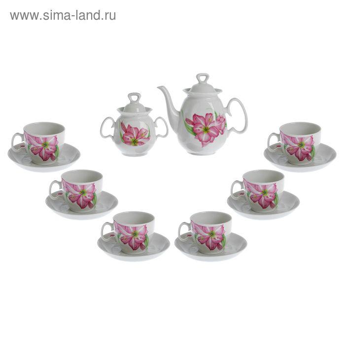 "Сервиз чайный на 6 персон ""Романтика"""