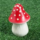 """Садовая фигура """"Мухомор"""" малый, высокая шляпка, микс"""