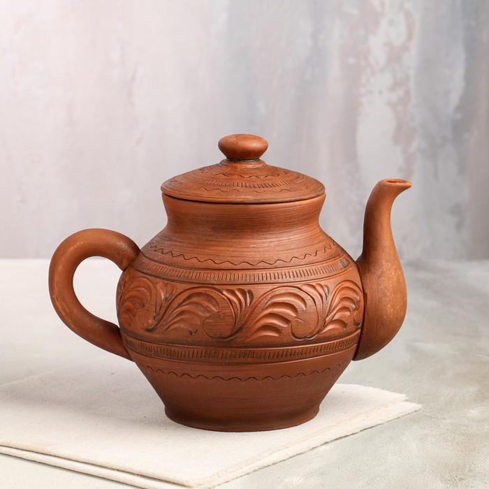 Чайник большой с рисунком, 2 л, микс