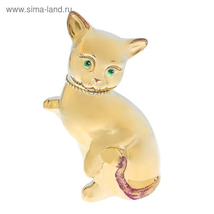 """Копилка """"Кошка с поднятой лапкой"""" булат"""