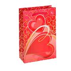"Пакет подарочный ""Любящее сердце"" 11,5х17,5х5 см"