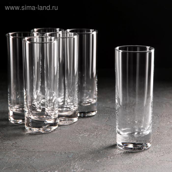 Набор стаканов 6 шт, высокие 215 мл Side