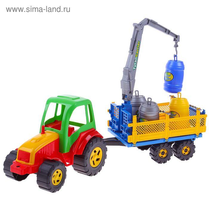 Трактор с бочками Tytan