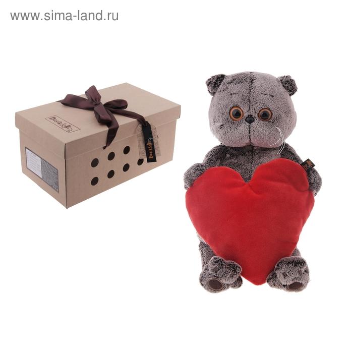 """Мягкая игрушка """"Басик с сердечком"""""""