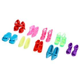 """Аксессуары для куклы """"Набор обуви"""", 9 пар"""