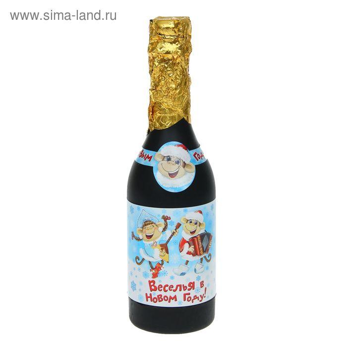 """Хлопушка пружинная """"Веселья в новом году"""", 30 см, серпантин фольга"""