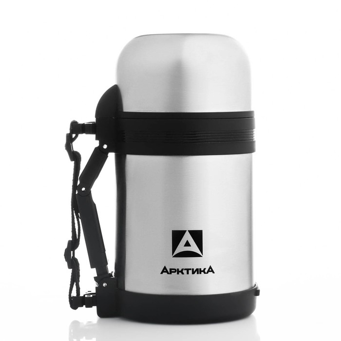 Термос бытовой нерж., вакуумный (универсальный),  800 мл, 2 чашки