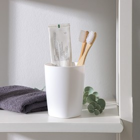 Стакан 'Aqua', цвет снежно-белый Ош