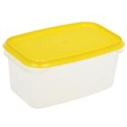 Контейнер пищевой 500 мл Venecia, цвет жёлтый