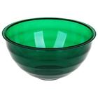 """Салатник 1 л """"Венеция"""", цвет зеленый полупрозрачный"""