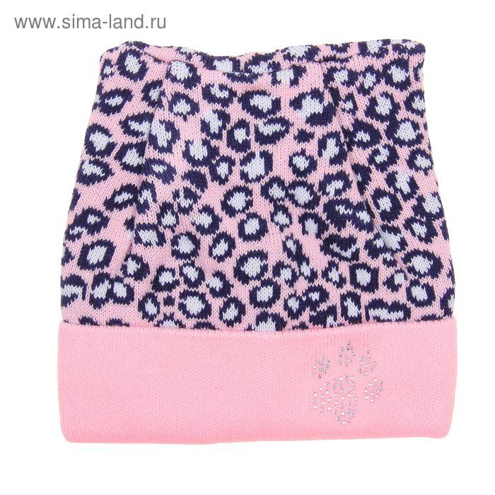 """Шапка для девочки """"Алиса"""", размер 50-52 (3-5 лет), цвет МИКС"""
