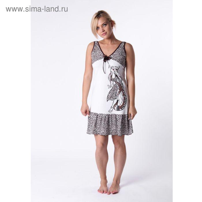 Сорочка женская 17 МИКС, р-р 48