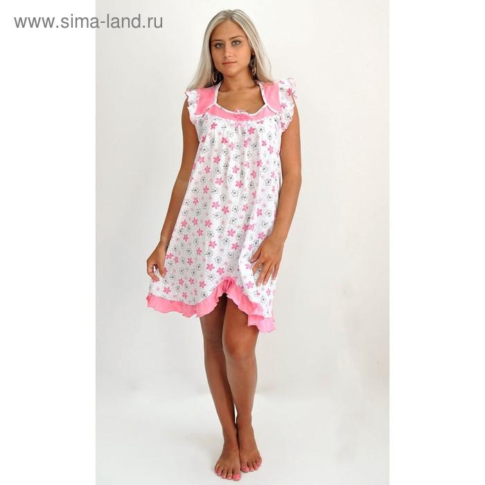 Сорочка женская 50, цвет микс, размер 58
