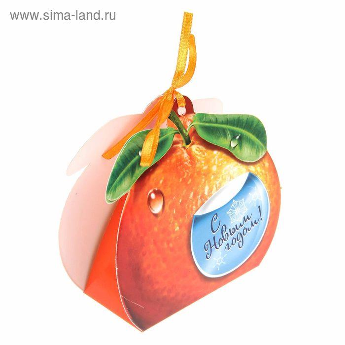 Коробка сборная фигурная «Апельсин», 9 х 9 см