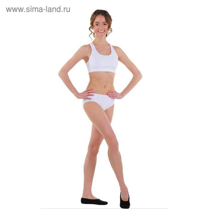 Топ-лиф гимнастический, размер 32, цвет белый
