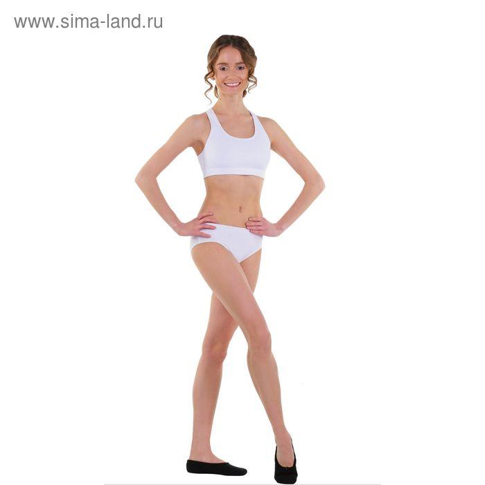 Топ-лиф гимнастический, размер 46, цвет белый
