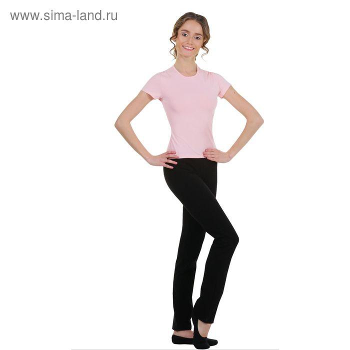 Футболка гимнастическая, размер 38, цвет розовый