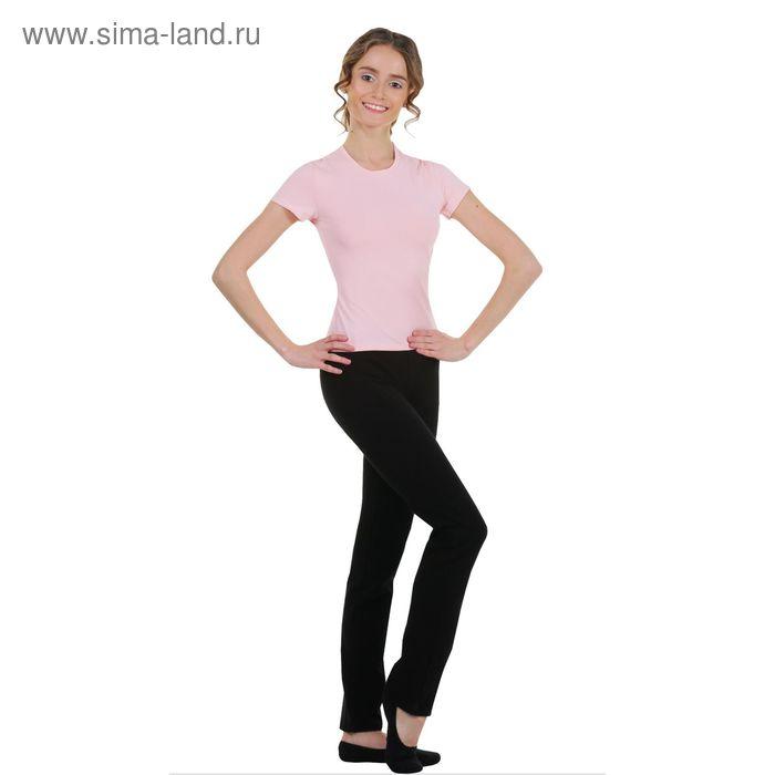 Футболка гимнастическая, размер 46, цвет розовый