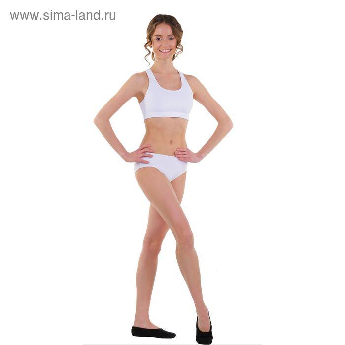 Топ-лиф гимнастический, размер 38, цвет белый