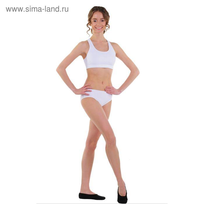 Топ-лиф гимнастический, размер 40, цвет белый