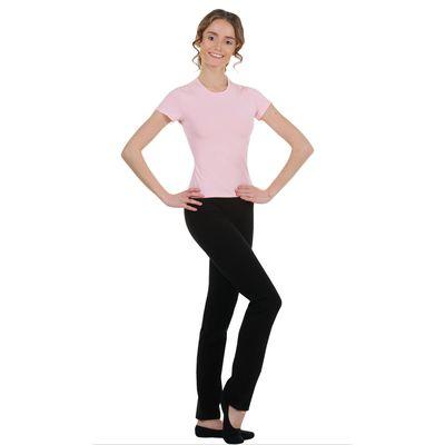 Футболка гимнастическая, размер 44, цвет розовый