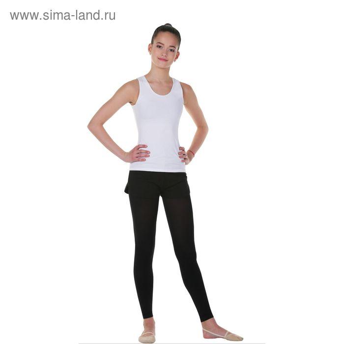 Майка гимнастическая, размер 40, цвет белый