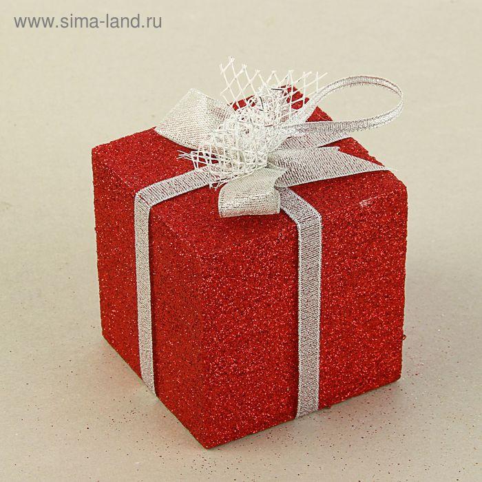 """Муляж """"Подарок"""", красный блеск, 8 см"""