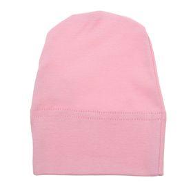 Шапочка для девочки, размер 40, цвет розовый