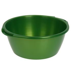 Таз 13 л, цвет зеленый с перламутром Ош