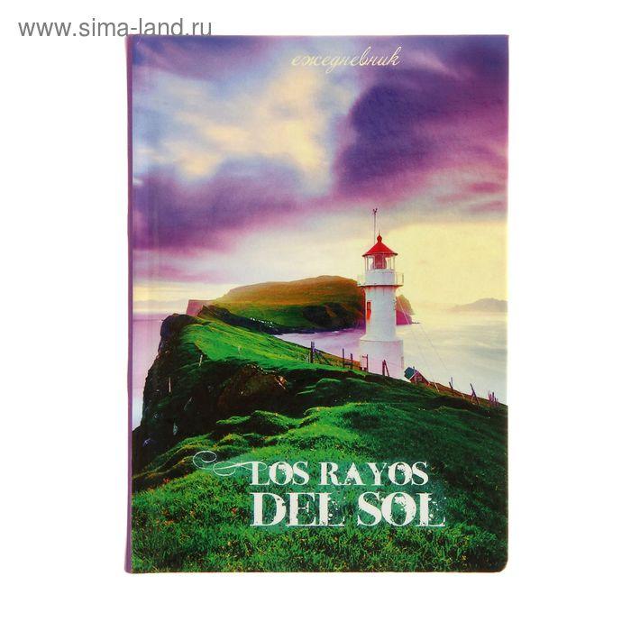 """Ежедневник недатированный А6, 160 листов, """"Прекрасный пейзаж"""", твердая обложка, глянцевая ламинация"""