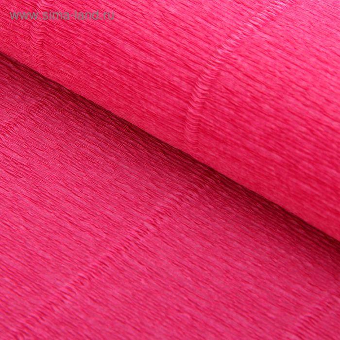 Бумага гофрированная 550 антично-розовая, 50 см х 2,5 м