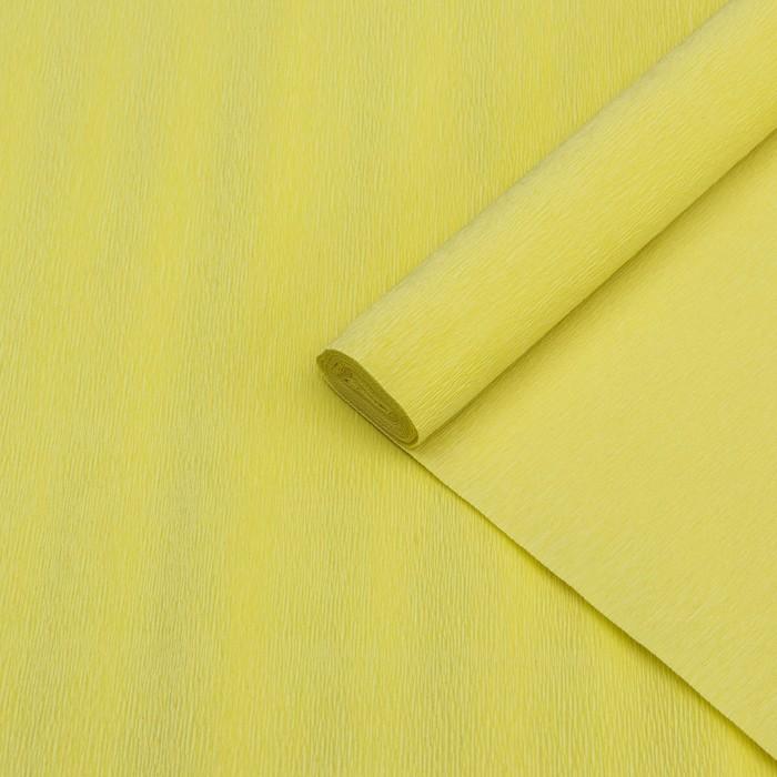 Бумага гофрированная 574 карминово-желтая, 50 см х 2,5 м