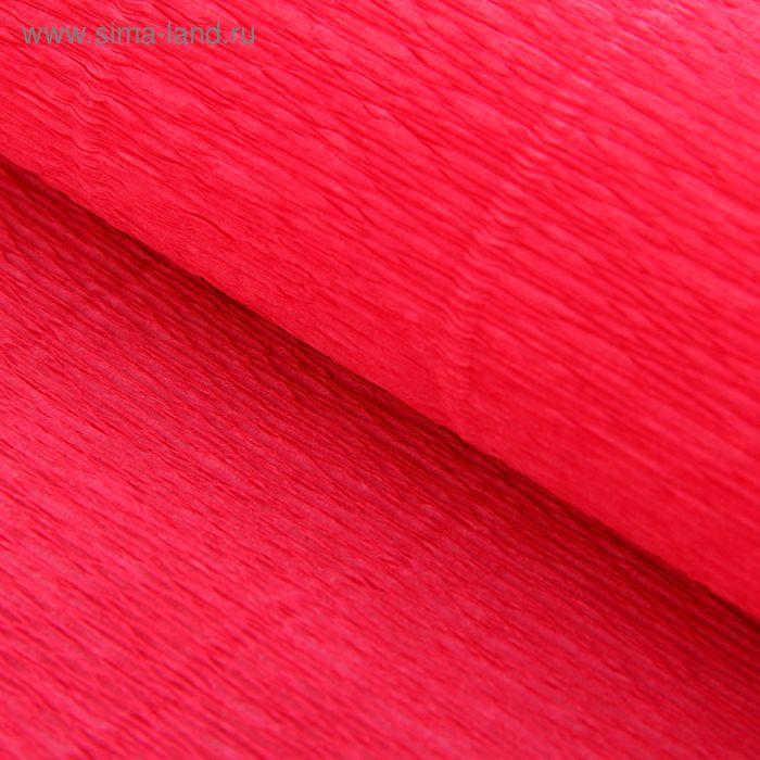 Бумага гофрированная 571 розовая (гортензия), 50 см х 2,5 м