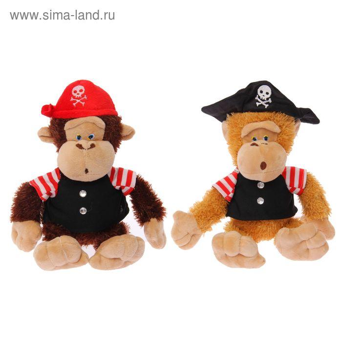 """Мягкая игрушка """"Пиратик"""" обезьяна, цвета МИКС"""