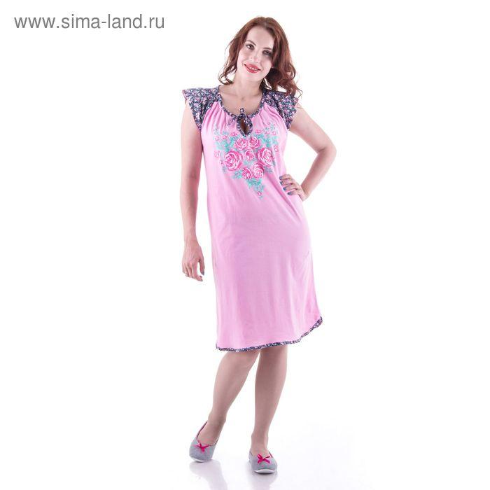 Сорочка женская  сн111 МИКС, р-р 48
