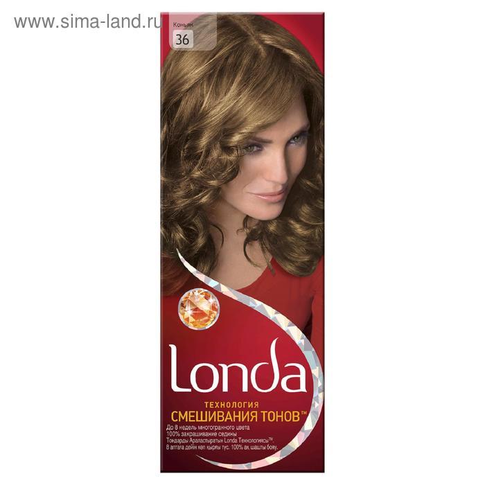 Стойкая крем-краска для волос LONDA, тон 36, коньяк