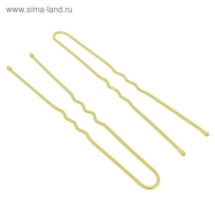 """Шпильки для волос """"Золотой цвет"""" (набор 40 шт.)"""