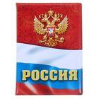 """Обложка для автодокументов """"Флаг"""""""