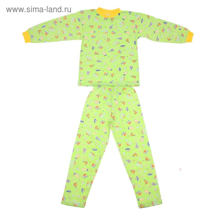 Пижама для девочки, размер 36, цвет микс