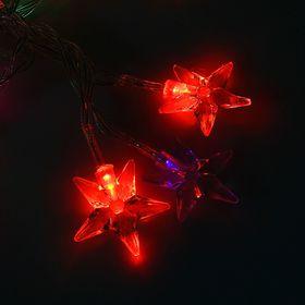 "Гирлянда ""Метраж"" 3 м, с насад. ""Звезда средняя"",Н.С.LED-20-3,6V,(АА*3 шт.не в компл) МУЛЬТИ"