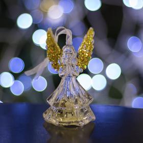 "Игрушка световая ""Ангел"" (батарейки в комплекте) 1 LED, RGB, ЗОЛОТИСТЫЙ"