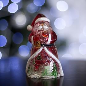 """Игрушка световая """"Дед Мороз-мудрец"""" (батарейки в комплекте) 1 LED, RGB"""