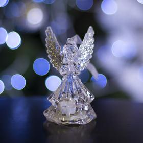 """Игрушка световая """"Ангел"""" (батарейки в комплекте) 1 LED, RGB, СЕРЕБРЯНЫЙ"""