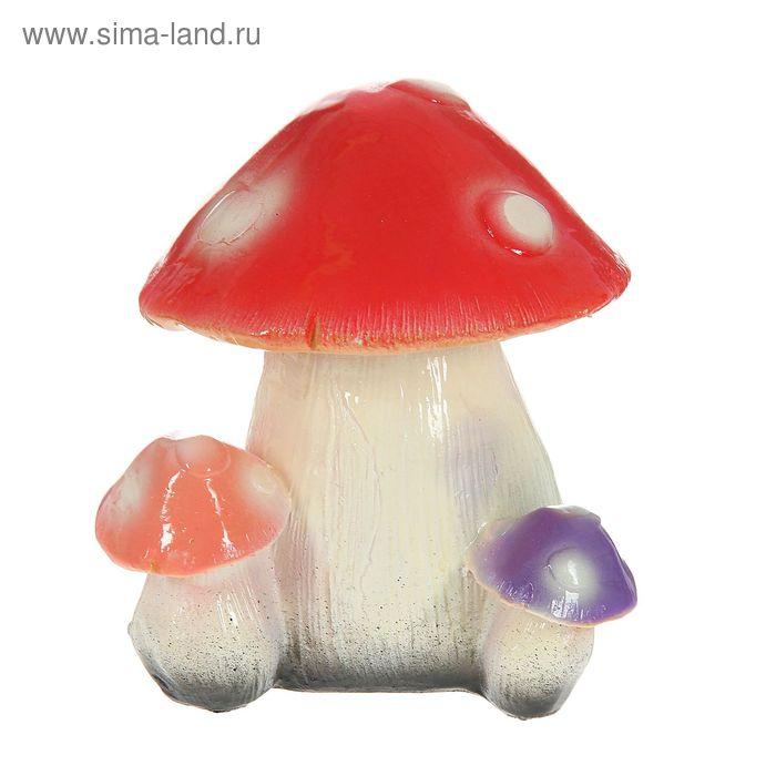 """Садовая фигура """"Семья грибов"""" малая"""