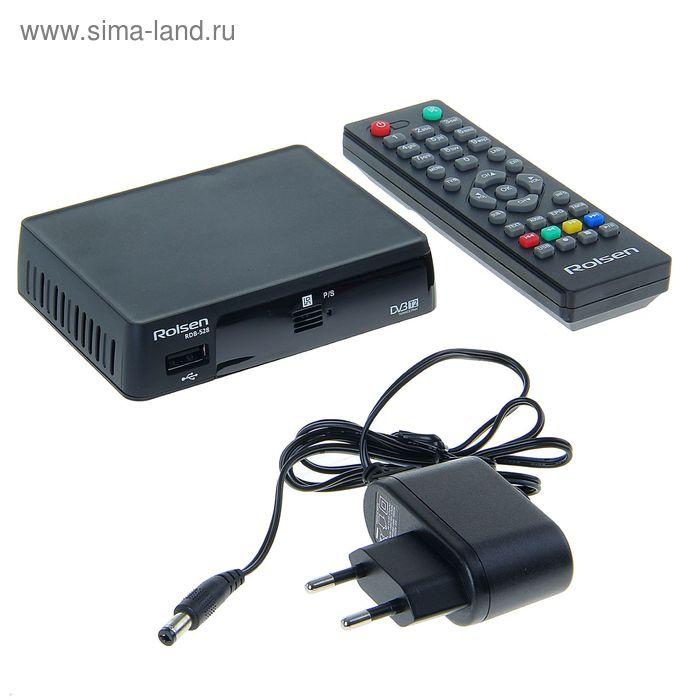 ТВ-приставка DVB-T2 ресивер Rolsen RDB-528