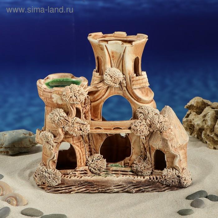 """Декорации для аквариума """"Замок Альфа"""""""