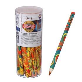 Карандаш цветной с многоцветным грифелем Koh-I-Noor Magic, утолщенный 3405000031TD