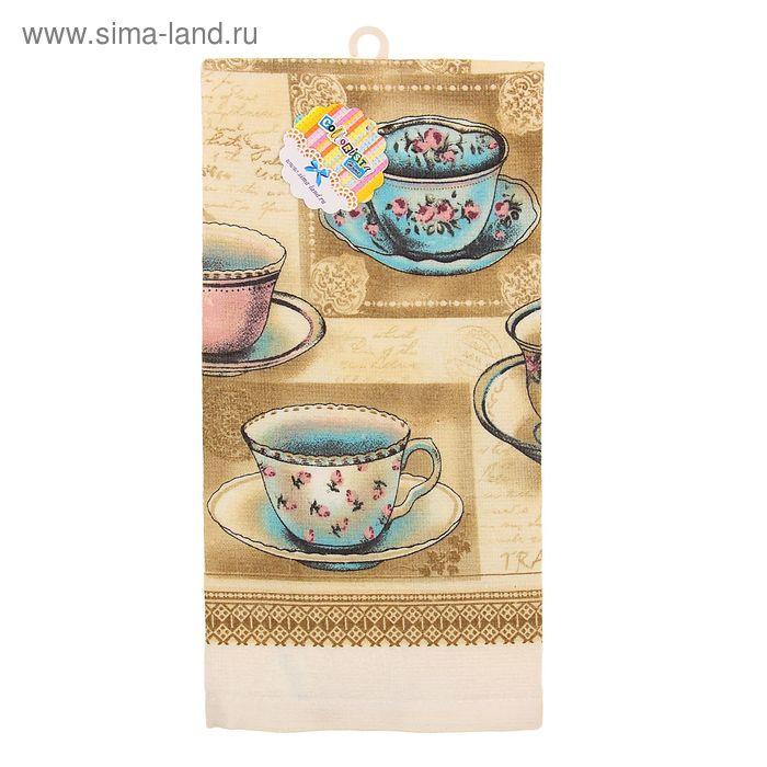 "Полотенце кухонное ""Collorista"" Tea 35*61 см, 100% хлопок"